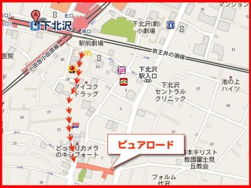 フリーマーケット地図